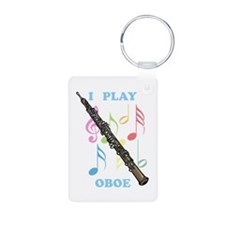 I Play Oboe Keychains