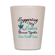 Thyroid Cancer Sister Shot Glass