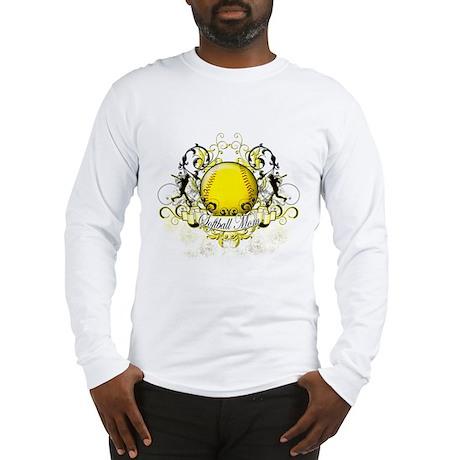 Softball Mom Long Sleeve T-Shirt