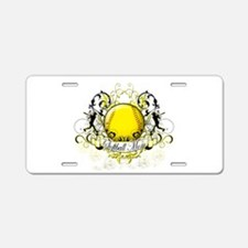 Softball Mom Aluminum License Plate