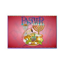 Passover Seder Rectangle Magnet