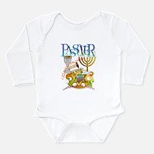 Passover Seder Long Sleeve Infant Bodysuit