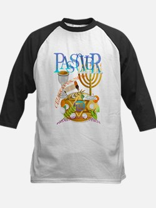 Passover Seder Kids Baseball Jersey