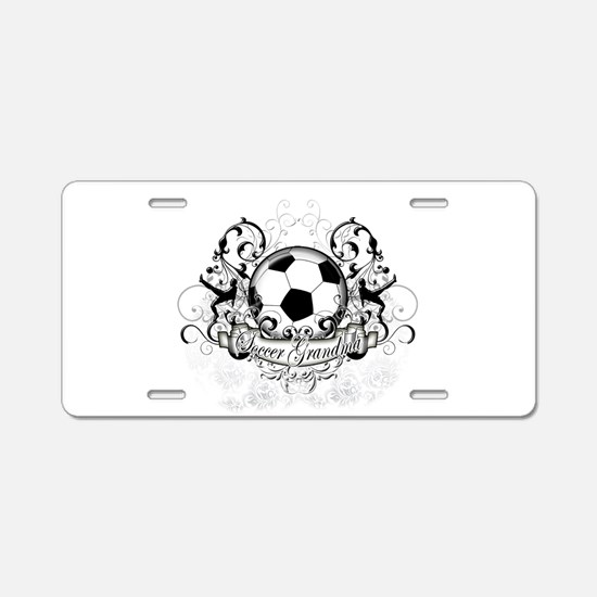 Soccer Grandma Aluminum License Plate