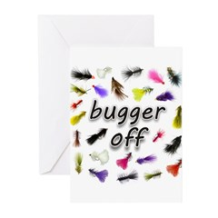 Bugger Off Greeting Cards (Pk of 20)