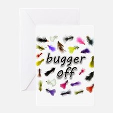 Bugger Off Greeting Card