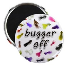 Bugger Off Magnet