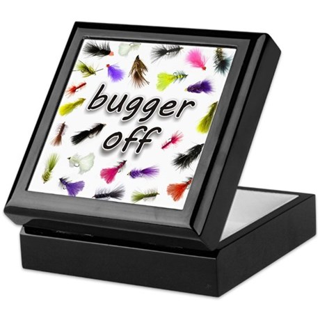 Bugger Off Keepsake Box