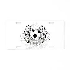 Soccer Aunt Aluminum License Plate