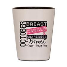 BreastCancerMonth Shot Glass