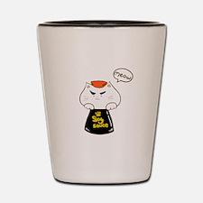 Soysauce meow Shot Glass