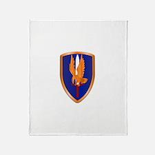 1st Aviation Brigade Throw Blanket