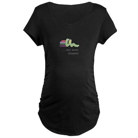 Books 4 life! Maternity Dark T-Shirt