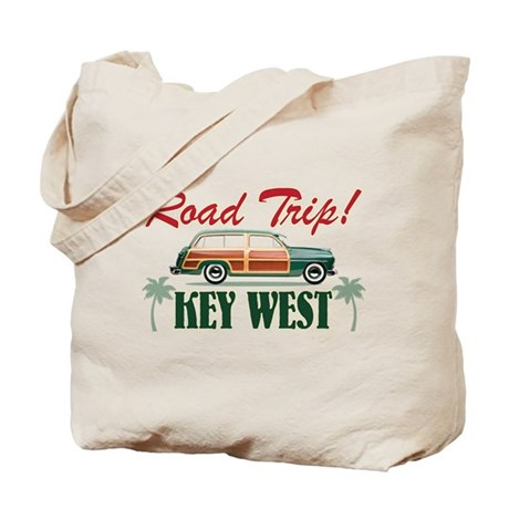 Road Trip! - Key West Tote Bag