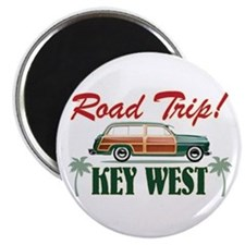 Road Trip! - Key West Magnet