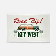 Road Trip! - Key West Rectangle Magnet