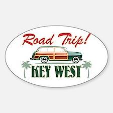 Road Trip! - Key West Sticker (Oval)