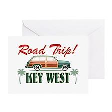 Road Trip! - Key West Greeting Card