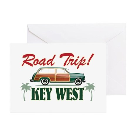 Road Trip! - Key West Greeting Card