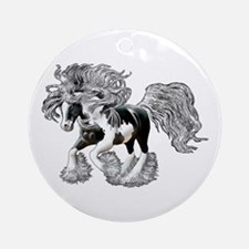 Gypsy Vanner Ornament (Round)
