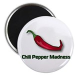 "Chili Pepper Madness 2.25"" Magnet (100 pack)"