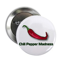 "Chili Pepper Madness 2.25"" Button (10 pack)"