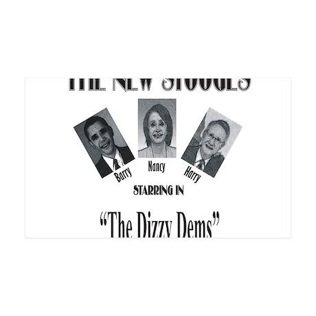 New Stooges: Dizzy Dems 38.5 x 24.5 Wall Peel