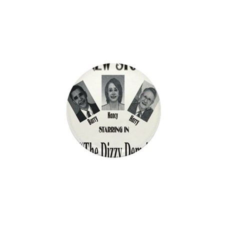 New Stooges: Dizzy Dems Mini Button (10 pack)