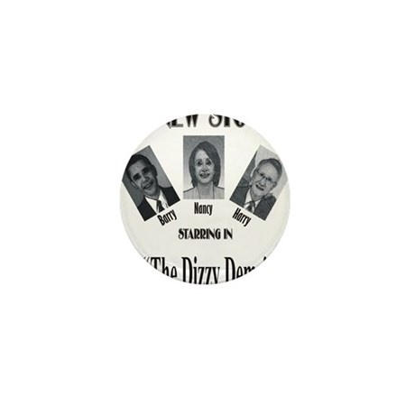New Stooges: Dizzy Dems Mini Button