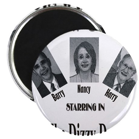 "New Stooges: Dizzy Dems 2.25"" Magnet (100 pack)"