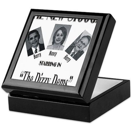 New Stooges: Dizzy Dems Keepsake Box