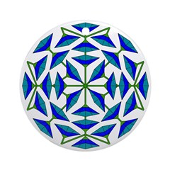 Eclectic Flower 307 Ornament (Round)