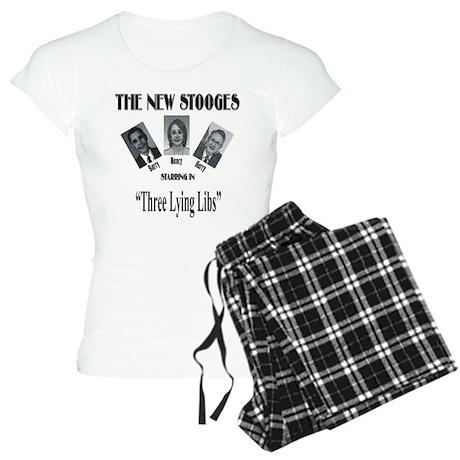New Stooges: Lying Libs Women's Light Pajamas