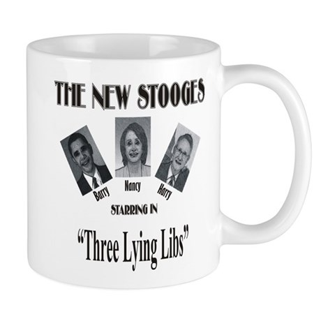 New Stooges: Lying Libs Mug