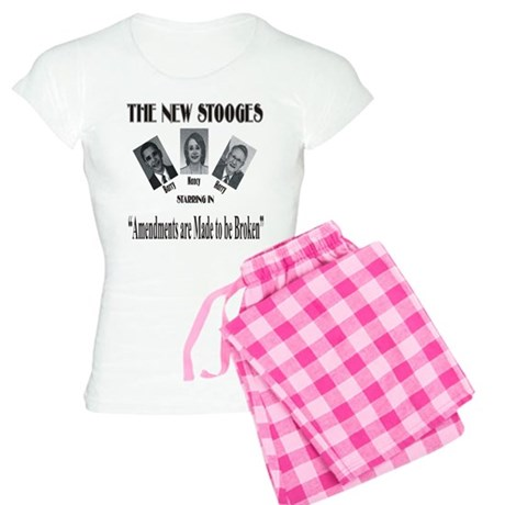 New Stooges: Amendments Women's Light Pajamas
