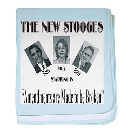 New Stooges: Amendments baby blanket