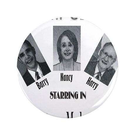 "New Stooges: Amendments 3.5"" Button"