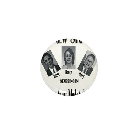 New Stooges: Amendments Mini Button (100 pack)
