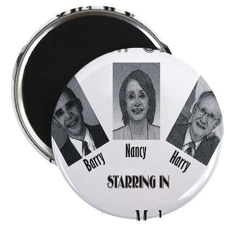 "New Stooges: Amendments 2.25"" Magnet (100 pack)"