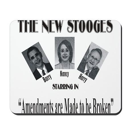 New Stooges: Amendments Mousepad