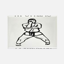 Cute Isshinryu karate Rectangle Magnet
