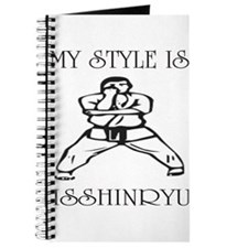 Unique Isshinryu karate Journal
