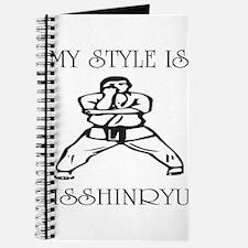 Unique Isshinryu karate Journal