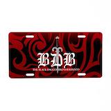 Black dagger brotherhood License Plates