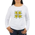 White daffodils Women's Long Sleeve T-Shirt