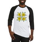White daffodils Baseball Jersey