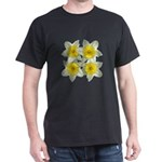 White daffodils Dark T-Shirt