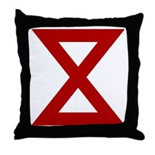 10th Army Throw Pillow