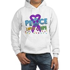 Cystic Fibrosis HopeLoveCure Hoodie