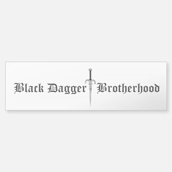 Black Dagger Brotherhood Bumper Bumper Bumper Sticker